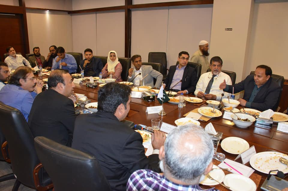 Meeting With Korangi Association of Trade and Industry (KATI)