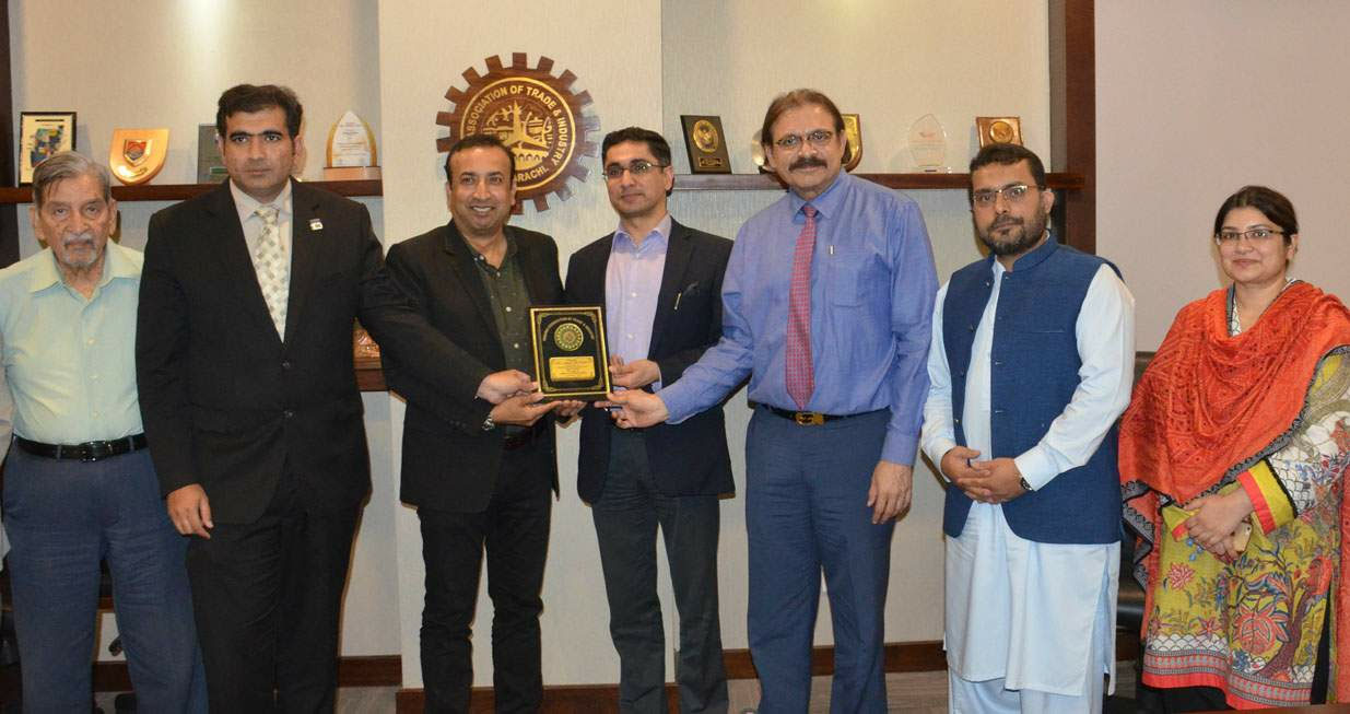 Sindh Food Authority Delegation visits KATI