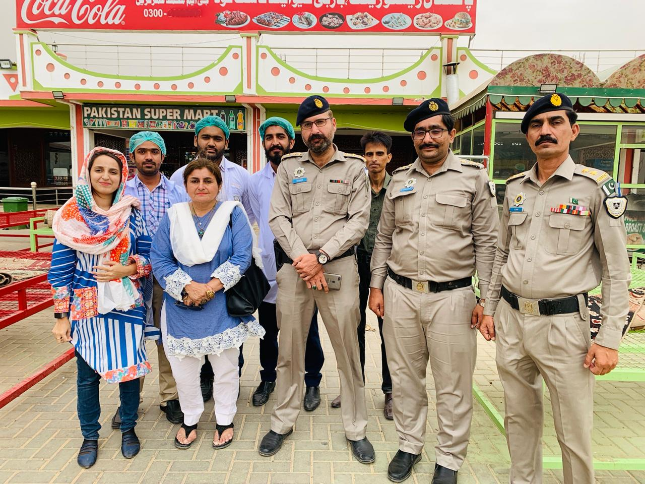 Team of Director Aisha Junejo Visit of Nooriabad Inspection